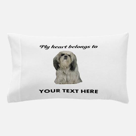 Personalized Shih Tzu Pillow Case