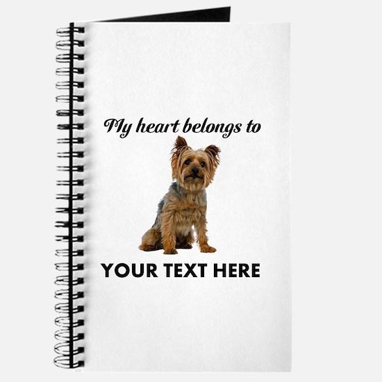Silky Terrier Journal