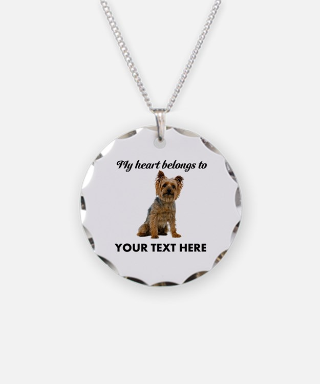 Silky Terrier Necklace