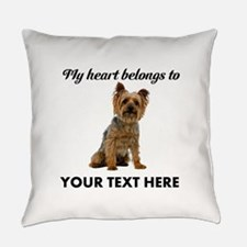 Silky Terrier Everyday Pillow