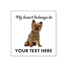 Silky Terrier Square Sticker 3