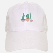 Potted Cactus Desert Plants Baseball Cap