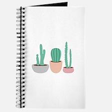 Potted Cactus Desert Plants Journal