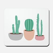 Potted Cactus Desert Plants Mousepad