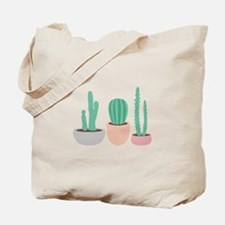 Potted Cactus Desert Plants Tote Bag