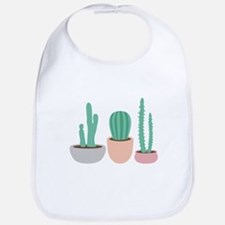 Potted Cactus Desert Plants Bib