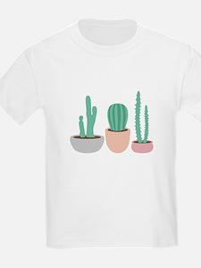 Potted Cactus Desert Plants T-Shirt