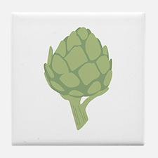 Artichoke Vegetable Tile Coaster