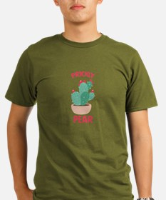 Prickly Pear Cactus Plant T-Shirt