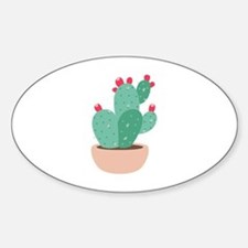 Prickly Pear Cactus Plant Decal