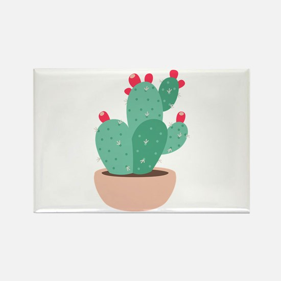 Prickly Pear Cactus Plant Magnets