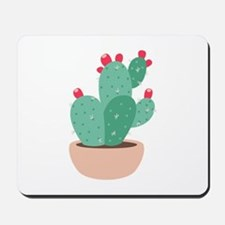 Prickly Pear Cactus Plant Mousepad