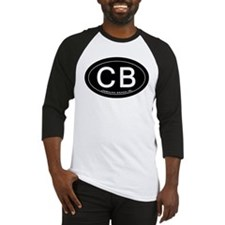Carolina Beach NC Oval CB Baseball Jersey