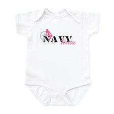 Sexy NAVY Hottie - pnk Infant Bodysuit