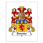 Bonnier Family Crest Small Poster