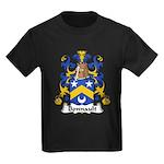 Bonnault Family Crest Kids Dark T-Shirt