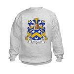 Bonnault Family Crest Kids Sweatshirt