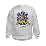 Bonnaire Family Crest  Kids Sweatshirt