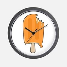 Creamsicle Wall Clock