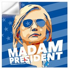 Madam President Wall Decal