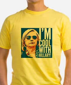 I'm cool with Hillary! T