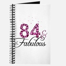 84 and Fabulous Journal