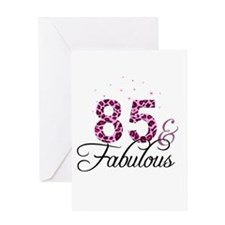 85 and Fabulous Greeting Cards