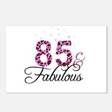 85 and Fabulous Postcards (Package of 8)