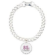 85 and Fabulous Charm Bracelet, One Charm