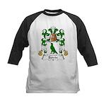 Boivin Family Crest Kids Baseball Jersey