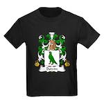 Boivin Family Crest Kids Dark T-Shirt