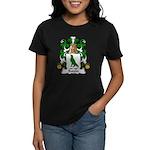 Boivin Family Crest Women's Dark T-Shirt