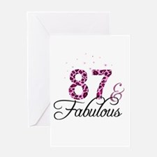 87 and Fabulous Greeting Cards