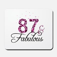 87 and Fabulous Mousepad