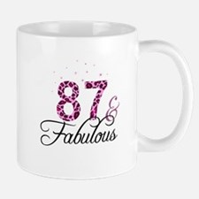 87 and Fabulous Mugs