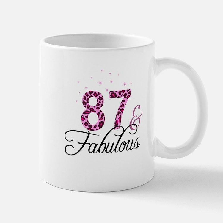 87 and Fabulous Mugs