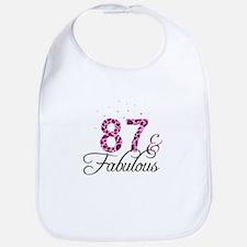 87 and Fabulous Bib
