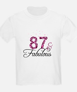 87 and Fabulous T-Shirt