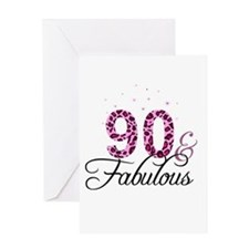 90 and Fabulous Greeting Cards