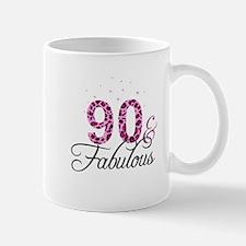 90 and Fabulous Mugs