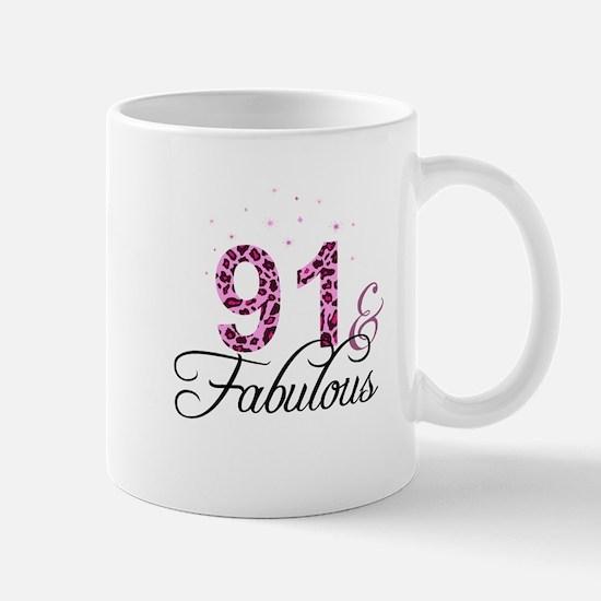91 and Fabulous Mugs