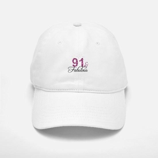 91 and Fabulous Baseball Baseball Cap