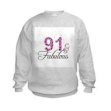 91 and Fabulous Sweatshirt