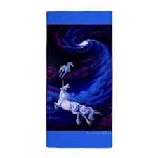 Unicorns Into The Light ~ Beach Towel
