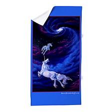 Unicorns Into The Light ~ Beach Towel