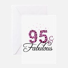 95 and Fabulous Greeting Cards
