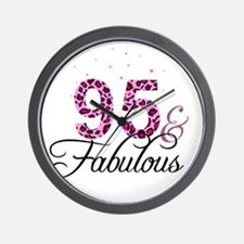 95 and Fabulous Wall Clock