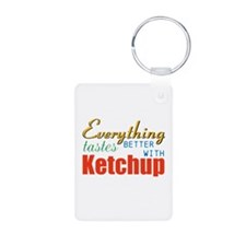 Better With Ketchup Keychains