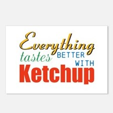 Better With Ketchup Postcards (Package of 8)