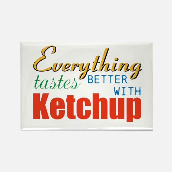 Better With Ketchup Magnets